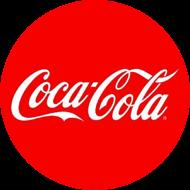 Coca Cola Logo rund