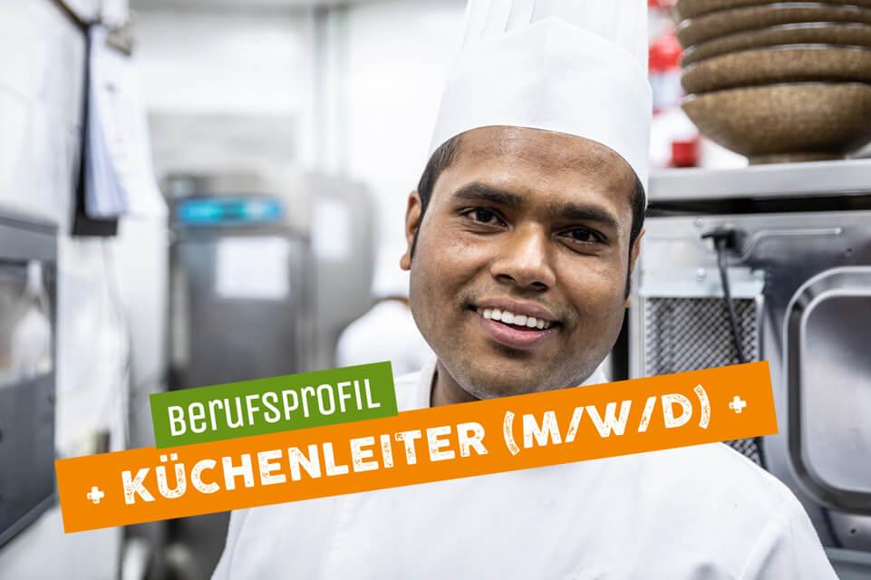 Teaser Berufsprofil Küchenleiter