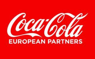 Logo Coca Cola European Partners quadratisch
