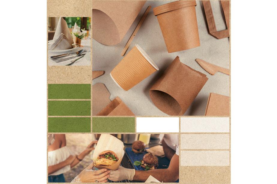 Nachhaltiges Verpackungsmaterial