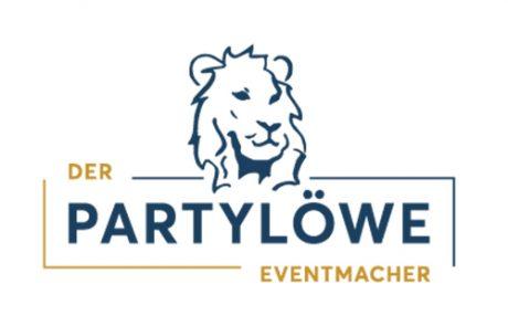 Logo der Partylöwe quadratisch