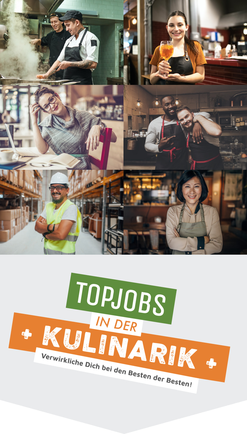 Fotocollage der mytopjob mobil-Version